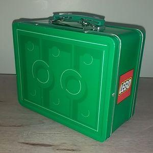 Lego Vintage Metal Lunch Box